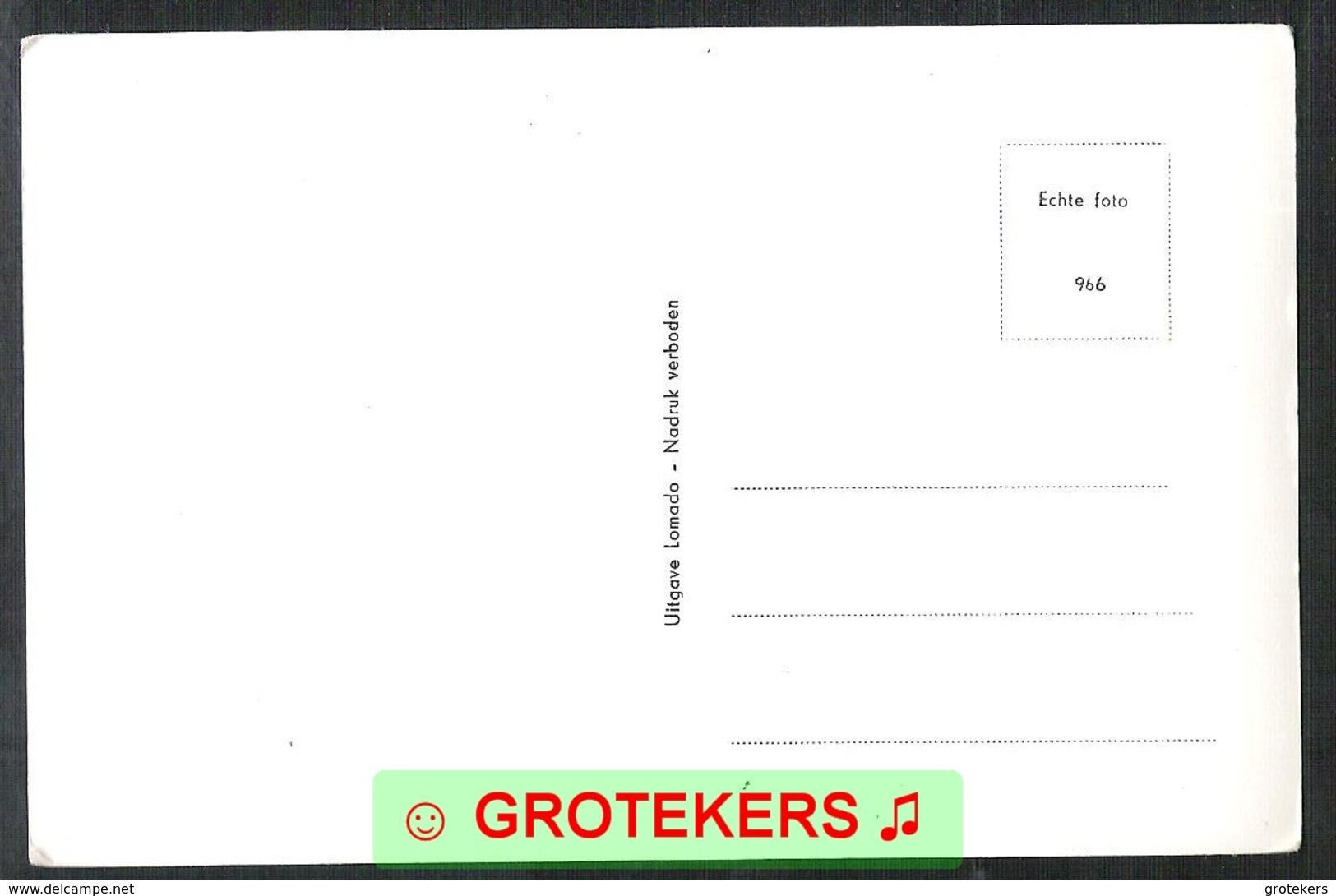 DORDRECHT Van Oldebarneveldtplein 1966   VW Busje - Dordrecht