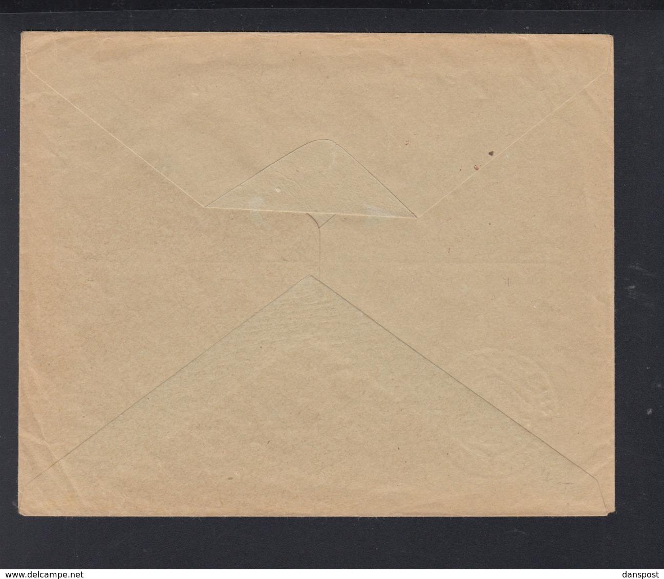 Dt. Reich Brief Franckhsche Verlagsbuchhandlung Stuttgart Gebühr Bezahlt 1923 - Deutschland