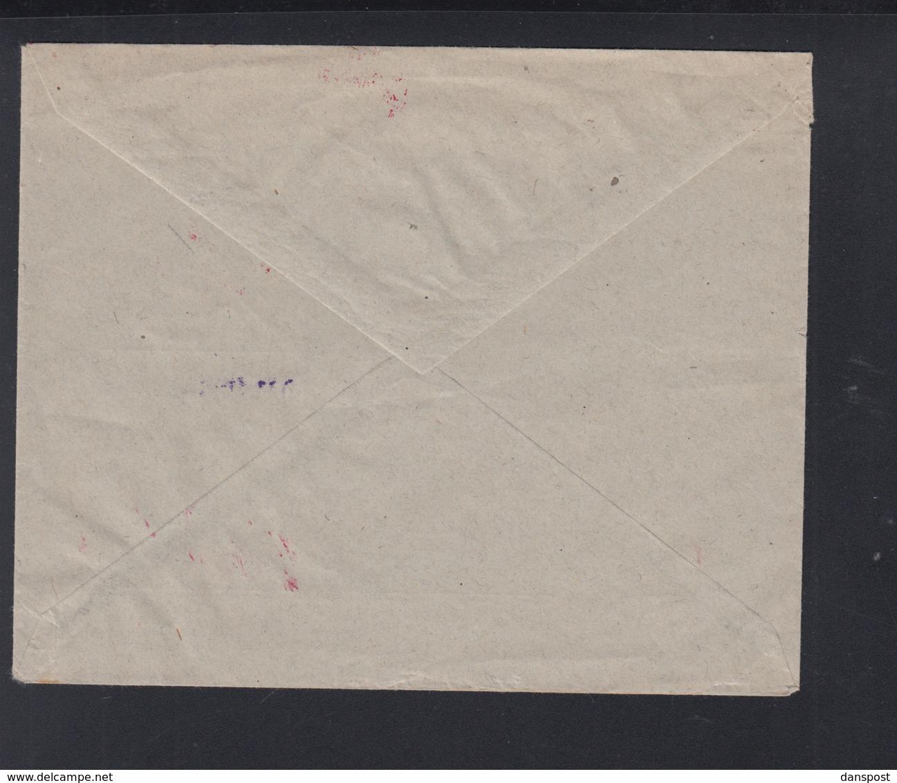 Dt. Reich Brief Franckhsche Verlagsbuchhandlung Stuttgart Gebühr Bezahlt 1923(2) - Briefe U. Dokumente