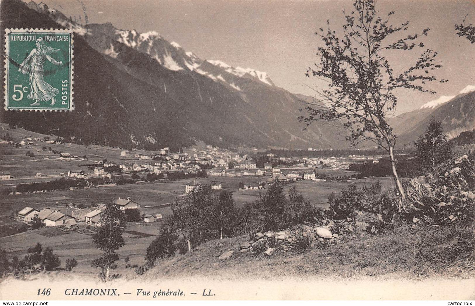 74 - Chamonix - Un Beau Plan De La Ville - Chamonix-Mont-Blanc