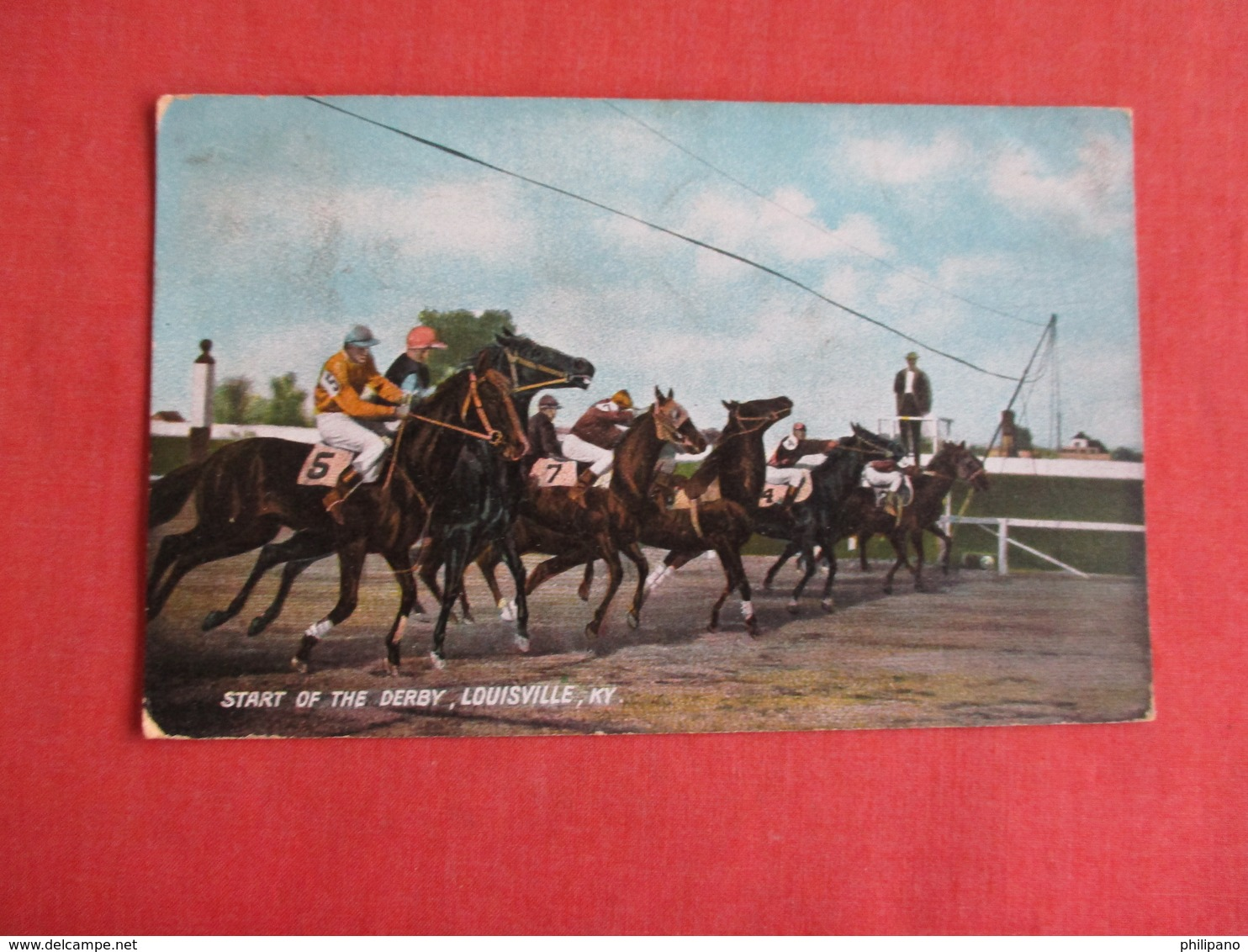 Start Of The Derby Louisville KY  Ref 3149 - Autres