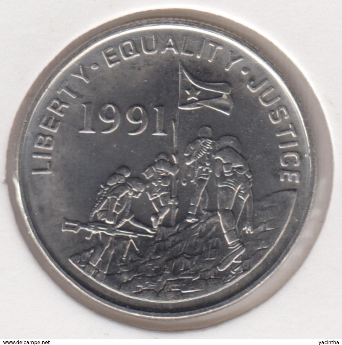 @Y@  Eritra   5 Cent  1991   Unc (1003) - Erythrée