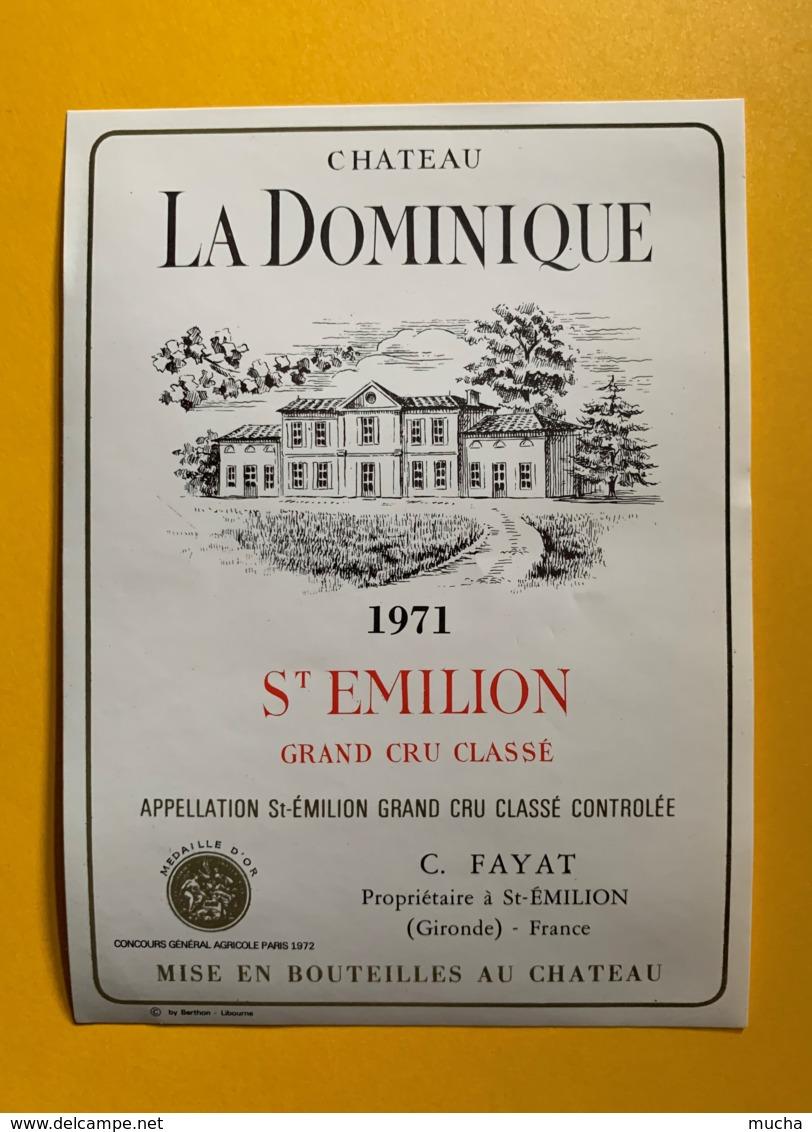 9908 - Château La Dominique 1971 Saint-Emilion - Bordeaux