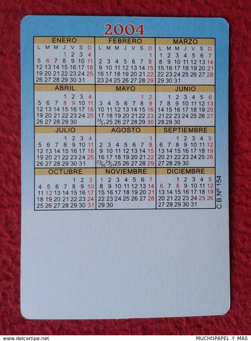 CALENDARIO DE BOLSILLO CALENDAR VACA COW VACHE KUH Encefalopatía Espongiforme Bovina Bovine Spongiform Encephalopathy ? - Calendarios