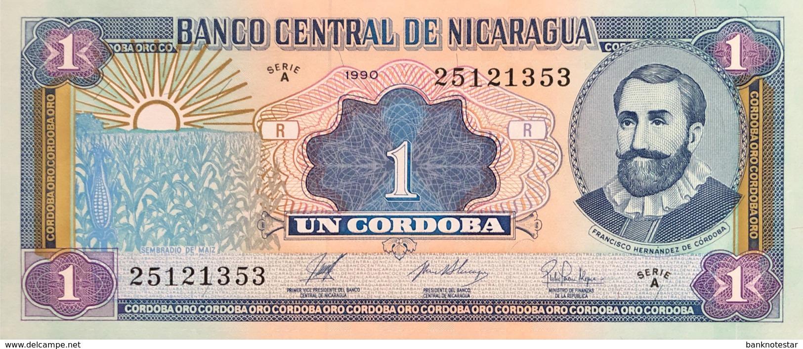 Nicaragua 1 Cordoba, P-173 (1990) - UNC - Nicaragua