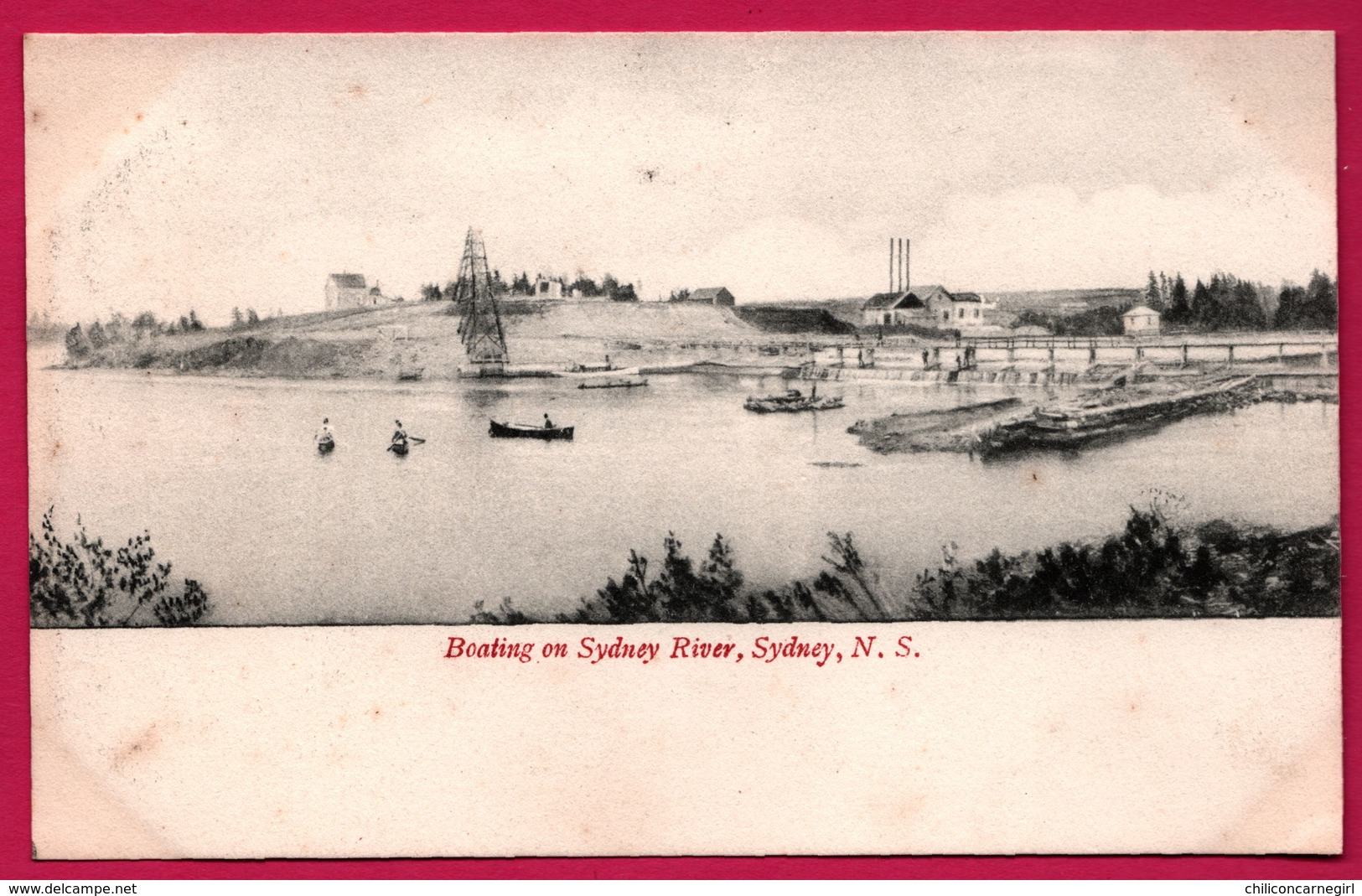 Australie - Sydney - Boating On Sydney River - Animée - N.S. - Sydney