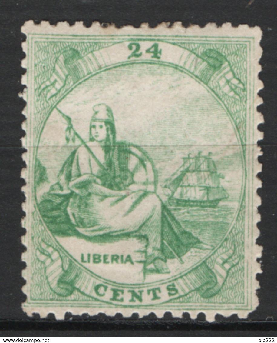 Liberia 1860 Y.T. 3 */MH VF/F - Liberia