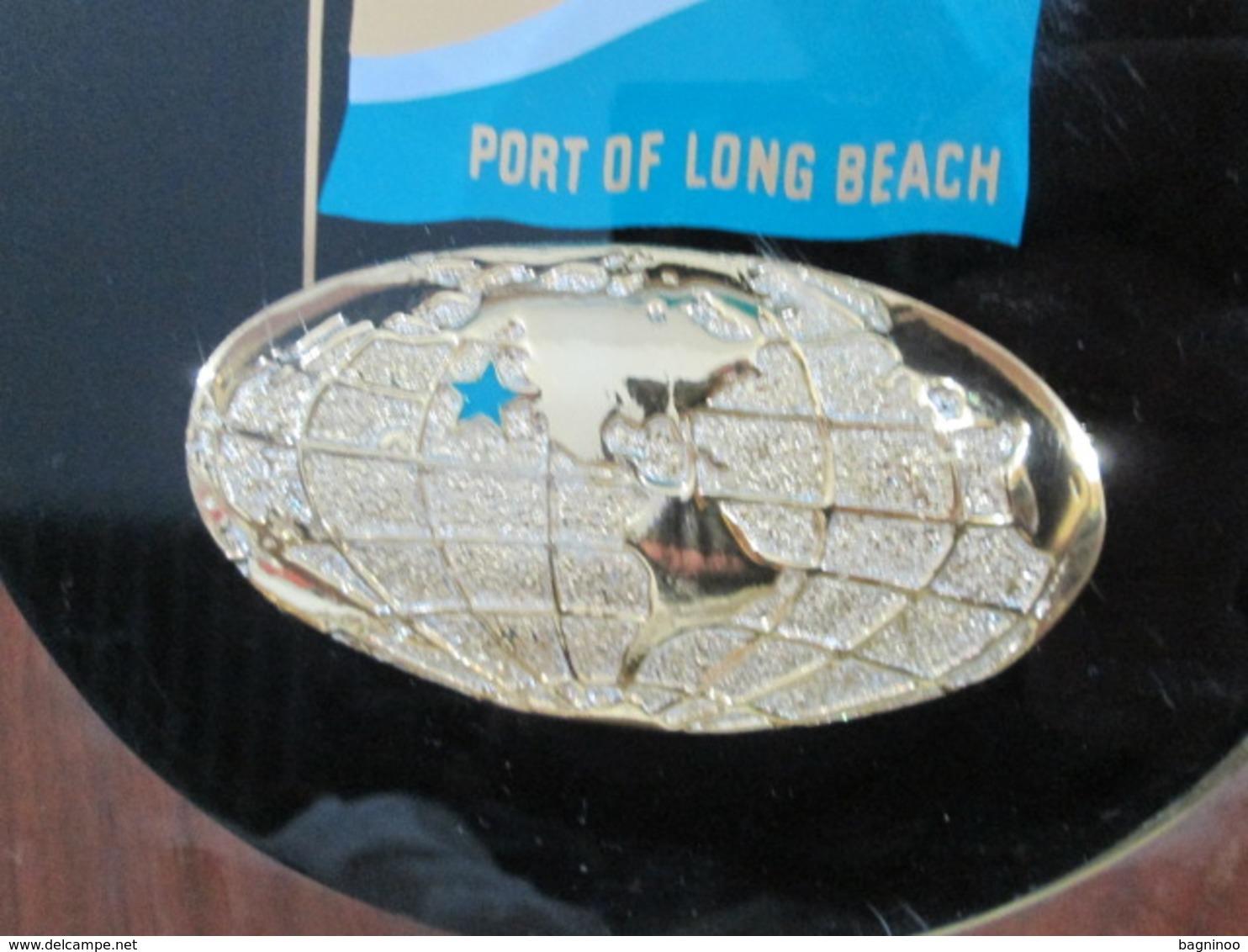 Port Of Long Beach Memorial Plaque To Sister City Split Yugoslavia 1974 - Obj. 'Remember Of'