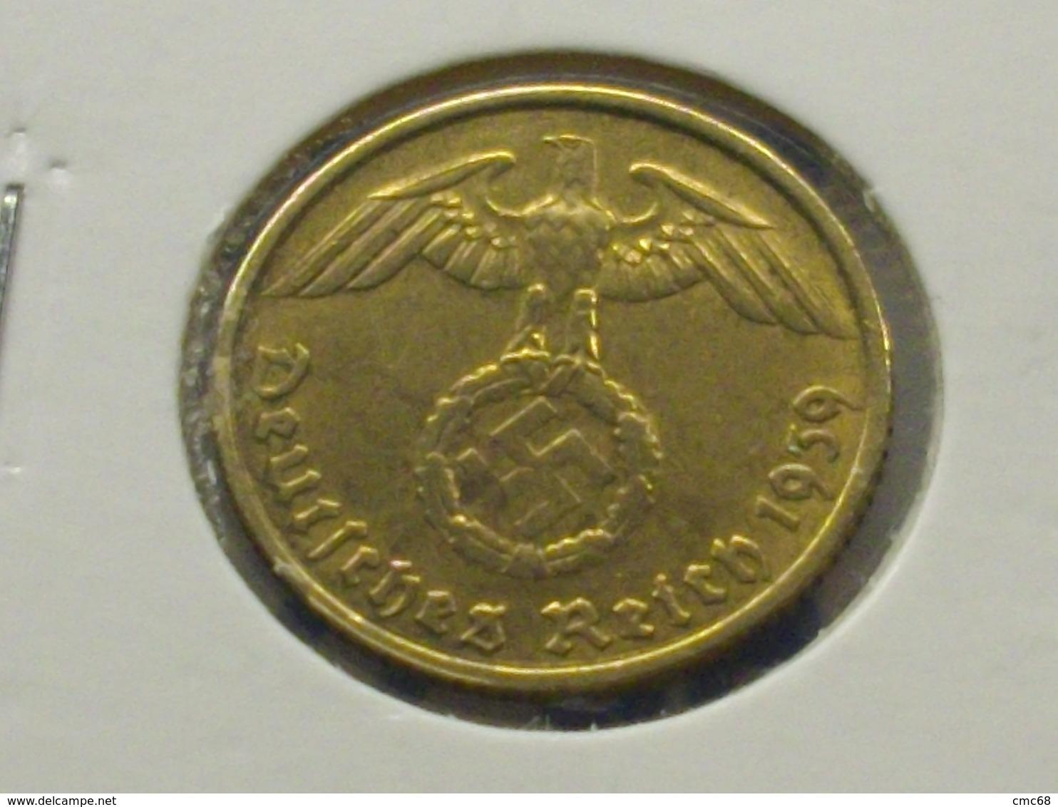 ALLEMAGNE   5  RAICHSPFENNIG 1939  F - 5 Reichspfennig