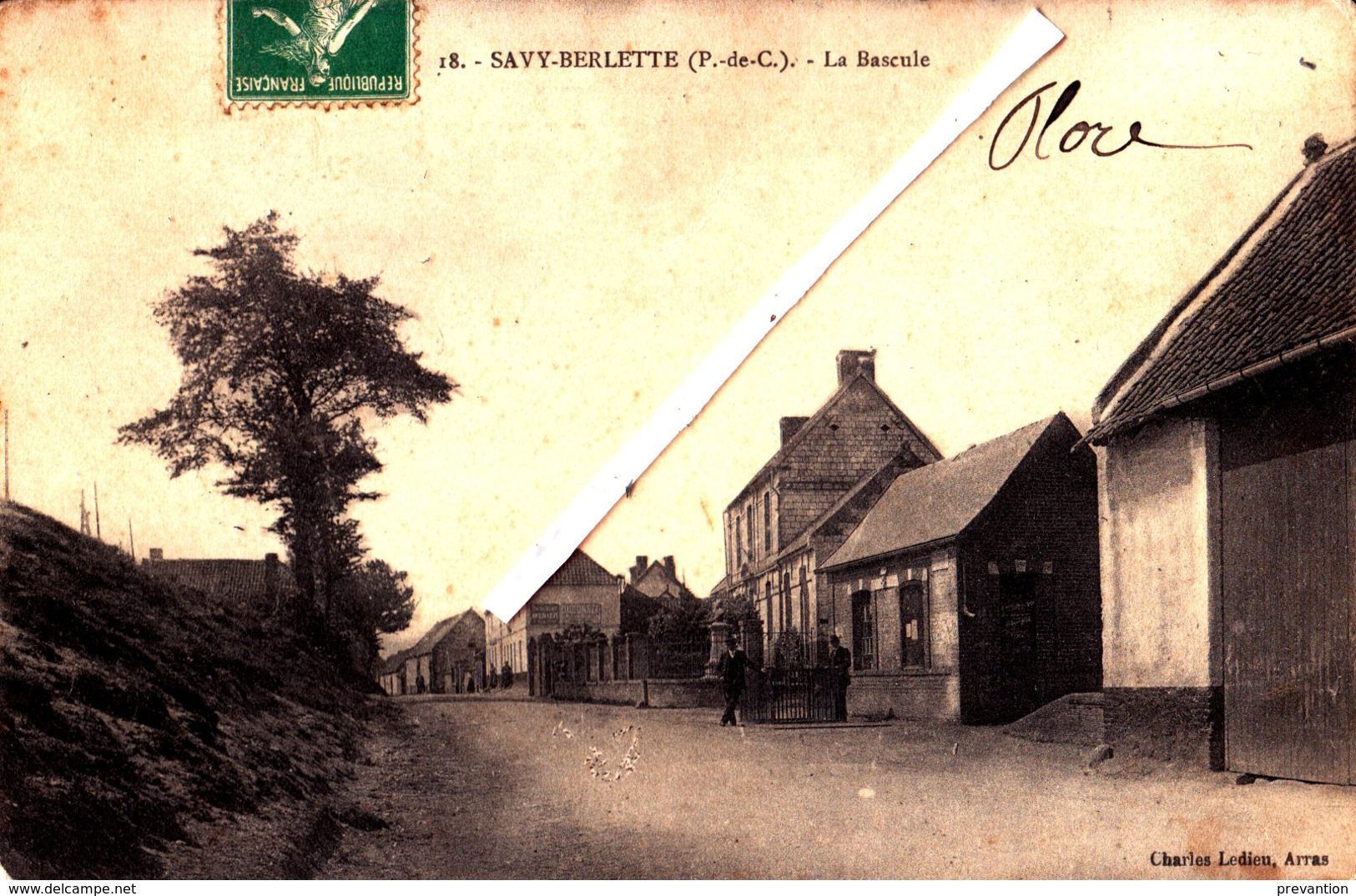 SAVY-BERLETTE (P-de-C) - La Bascule - Carte Animée - Francia