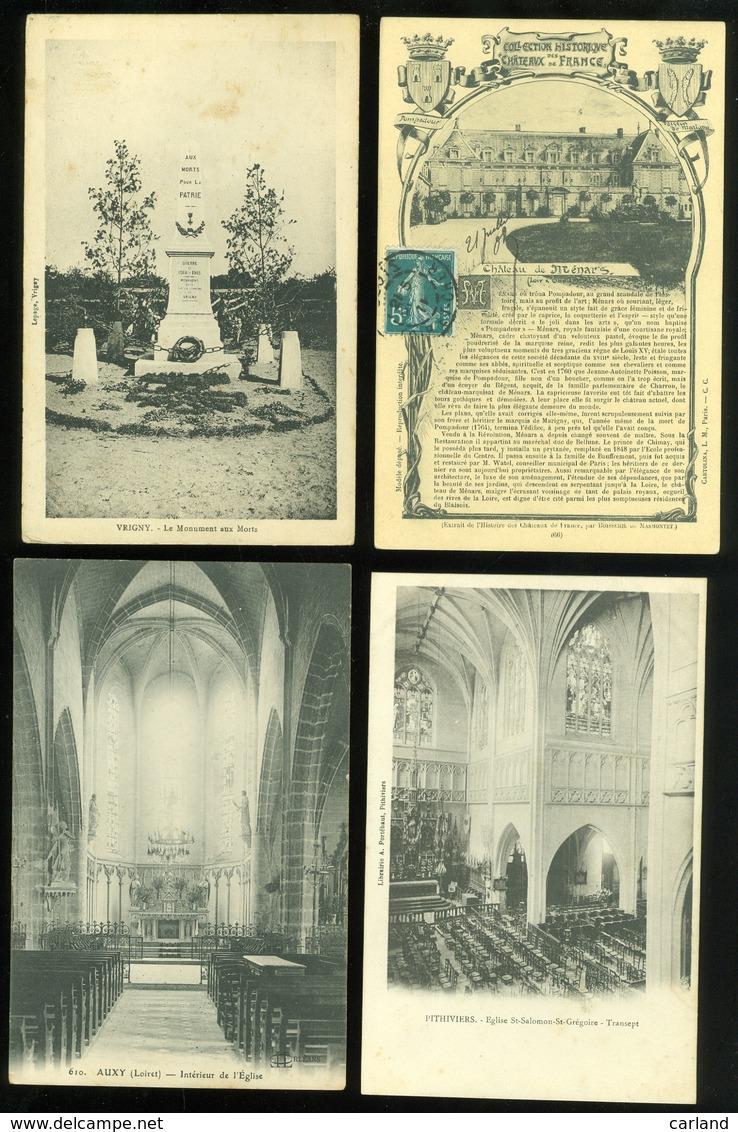 Lot De 60 Cartes Postales De France    Lot Van 60 Postkaarten Van Frankrijk  - 60 Scans - Cartes Postales