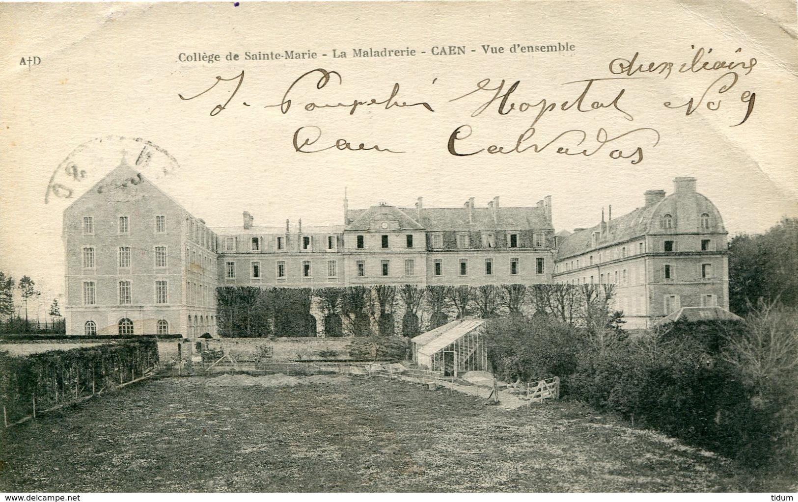 14 - CAEN - Collège De Sainte-Marie. La Maladrerie. Vue D'ensemble - Caen