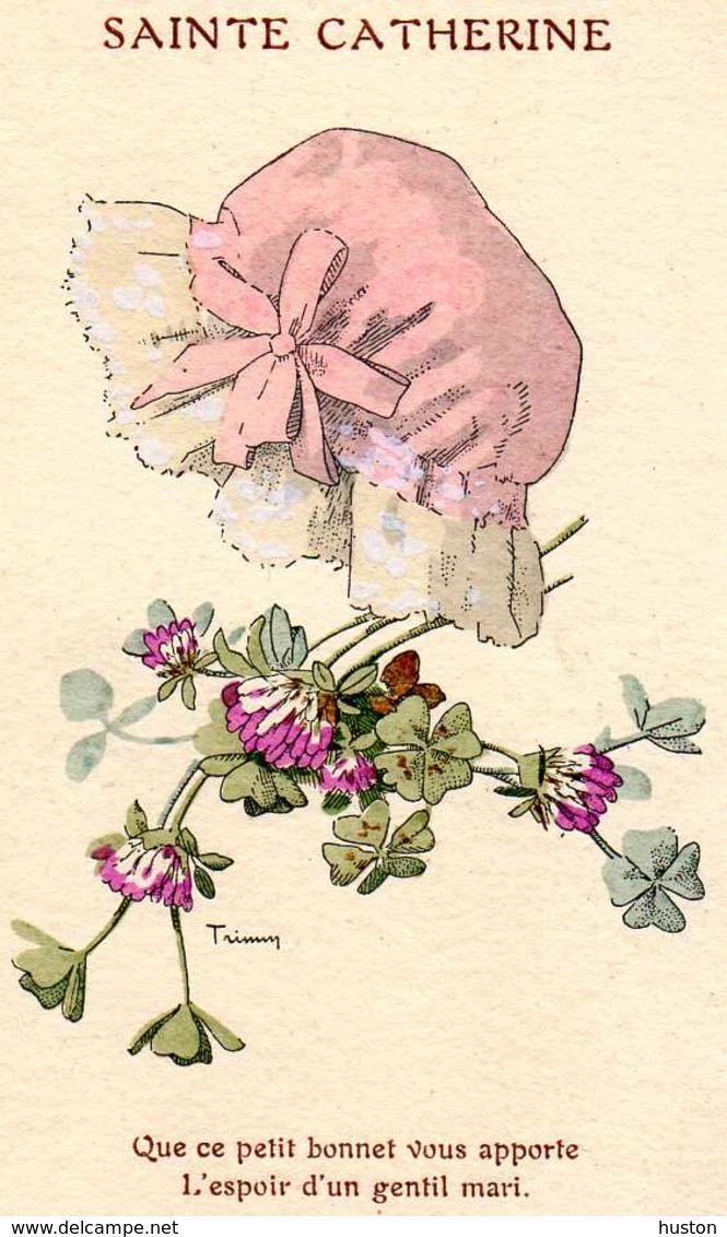 Bonnet De Sainte Catherine, Trèfle à Quatre Feuilles - Saint-Catherine's Day