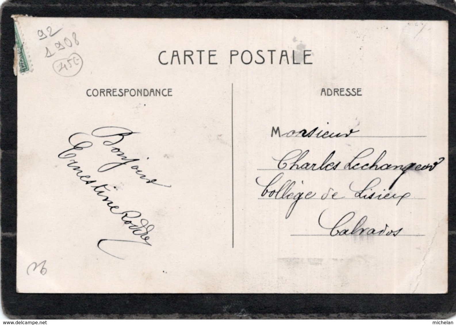 CPA   92   ASNIERES---LE ROWING-CLUB---1908---TRES RARE ? - Asnieres Sur Seine