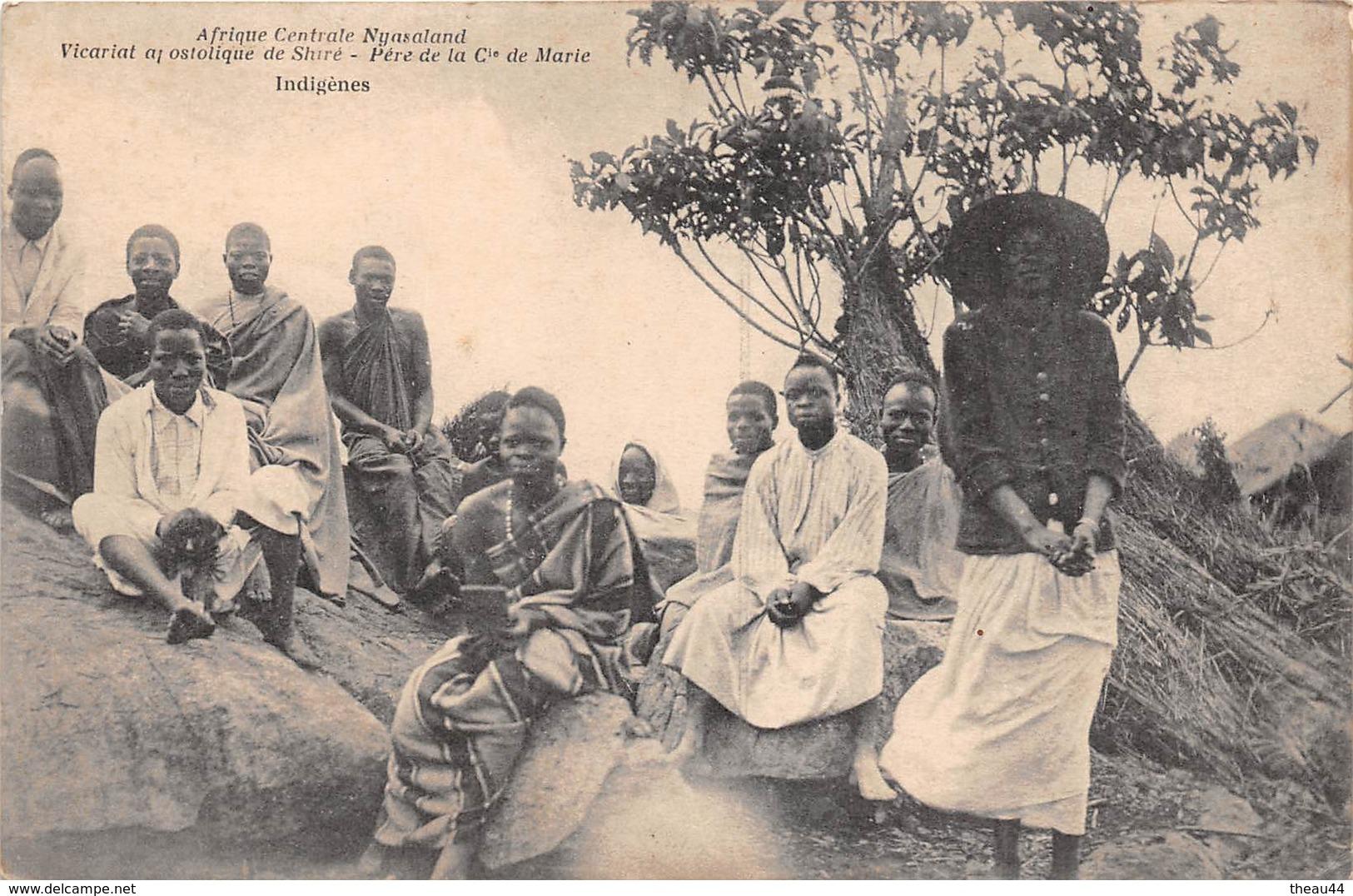 ¤¤   -    MALAWI    -  Afrique Centrale Nyasaland   -   Indigènes      -  ¤¤ - Malawi