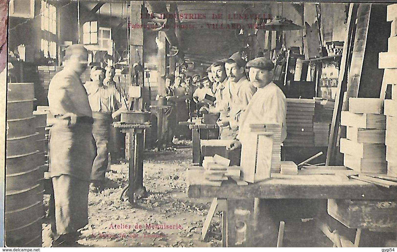Lunéville Atelier De Menuiserie Fabrique De Jouets Villard - Weill  & Cie - Luneville