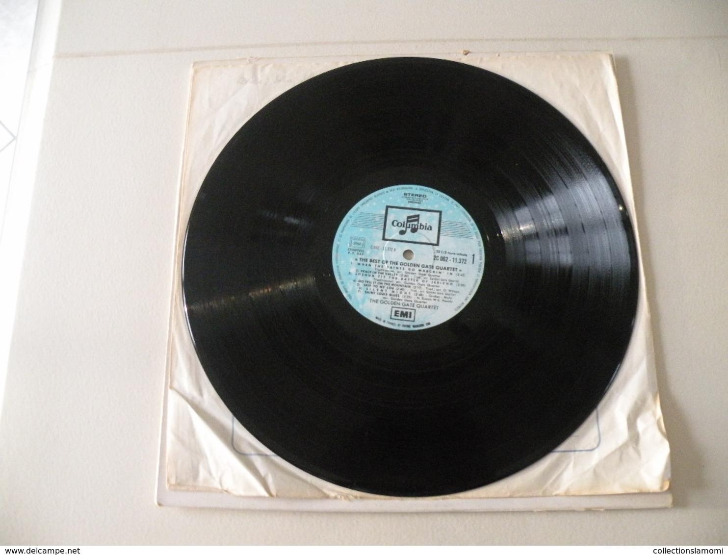 The Golden Gate Quartet 1955/57/58/60 - (Titres Sur Photos) - Vinyle 33 T LP Disque Columbia - Jazz