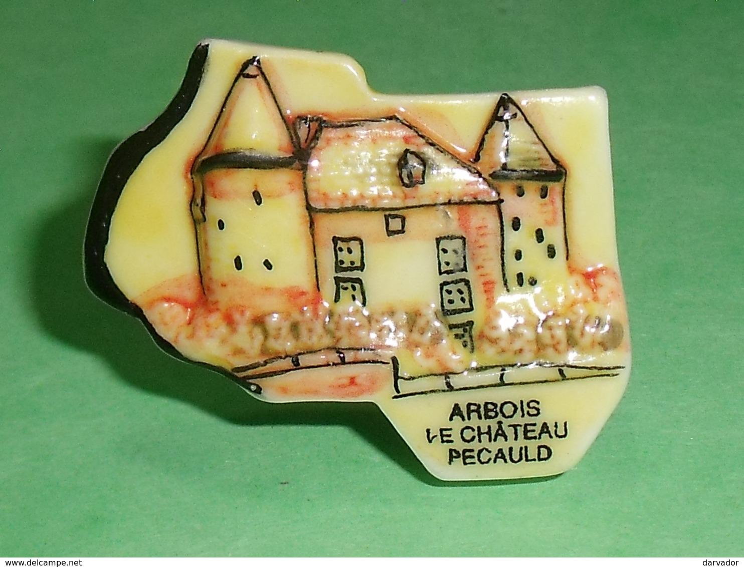 Fèves / Pays / Région : Puzzle , Arbois , Le Château Pecauld    T7 - Regionen