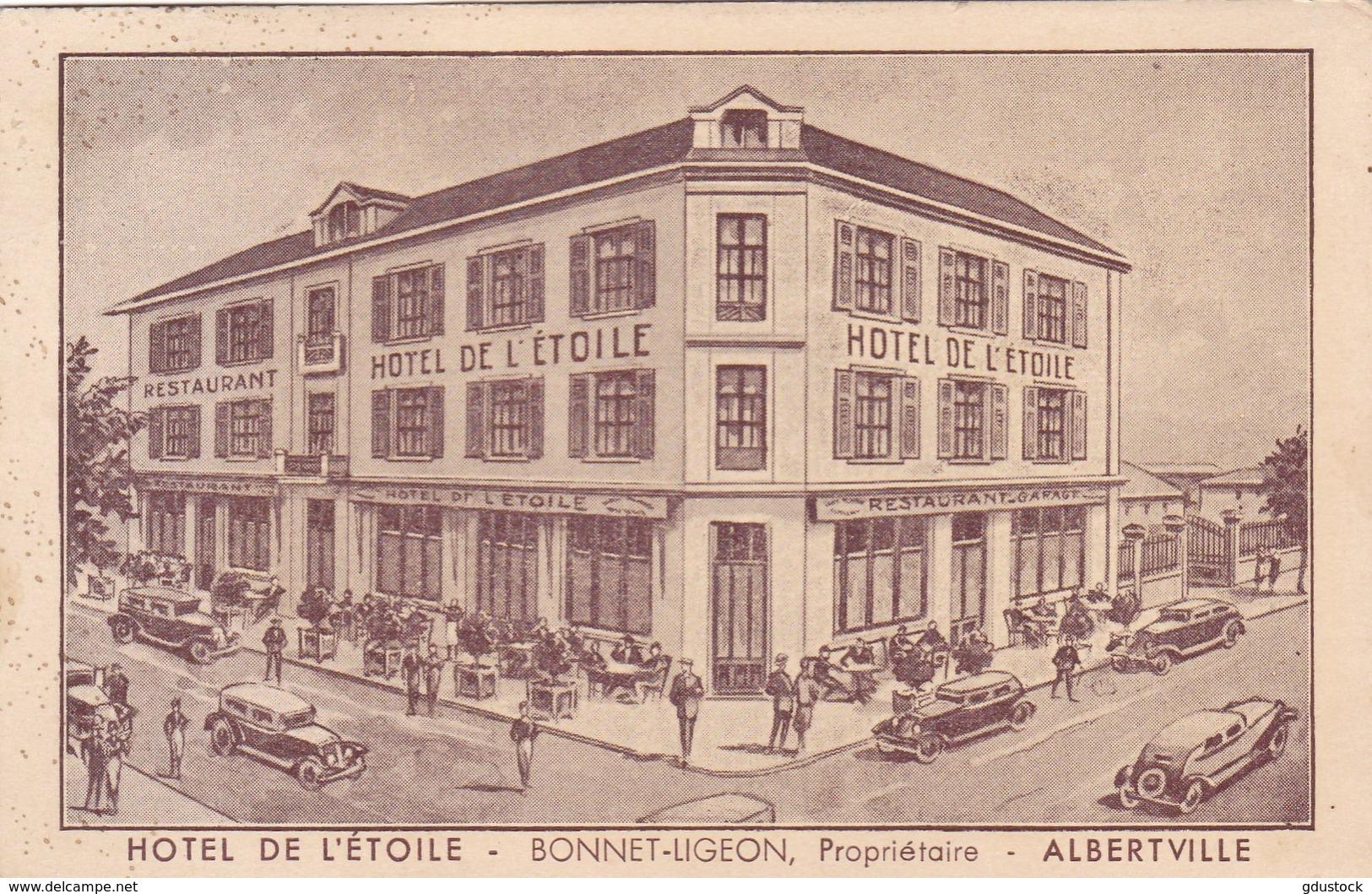 Savoie - Hôtel De L'Etoile - Bonnet-Ligeon, Propriétaire - Albertville - Albertville