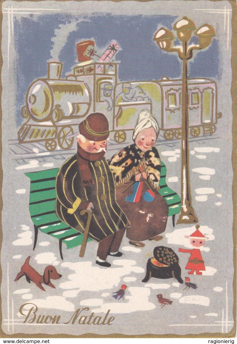 AUGURI FESTE - Buon Natale - Merry Christmas - Feliz Navidad - Joyeux Noël - Frohe Weihnachten - Allegoria Treno-1967 - Non Classificati