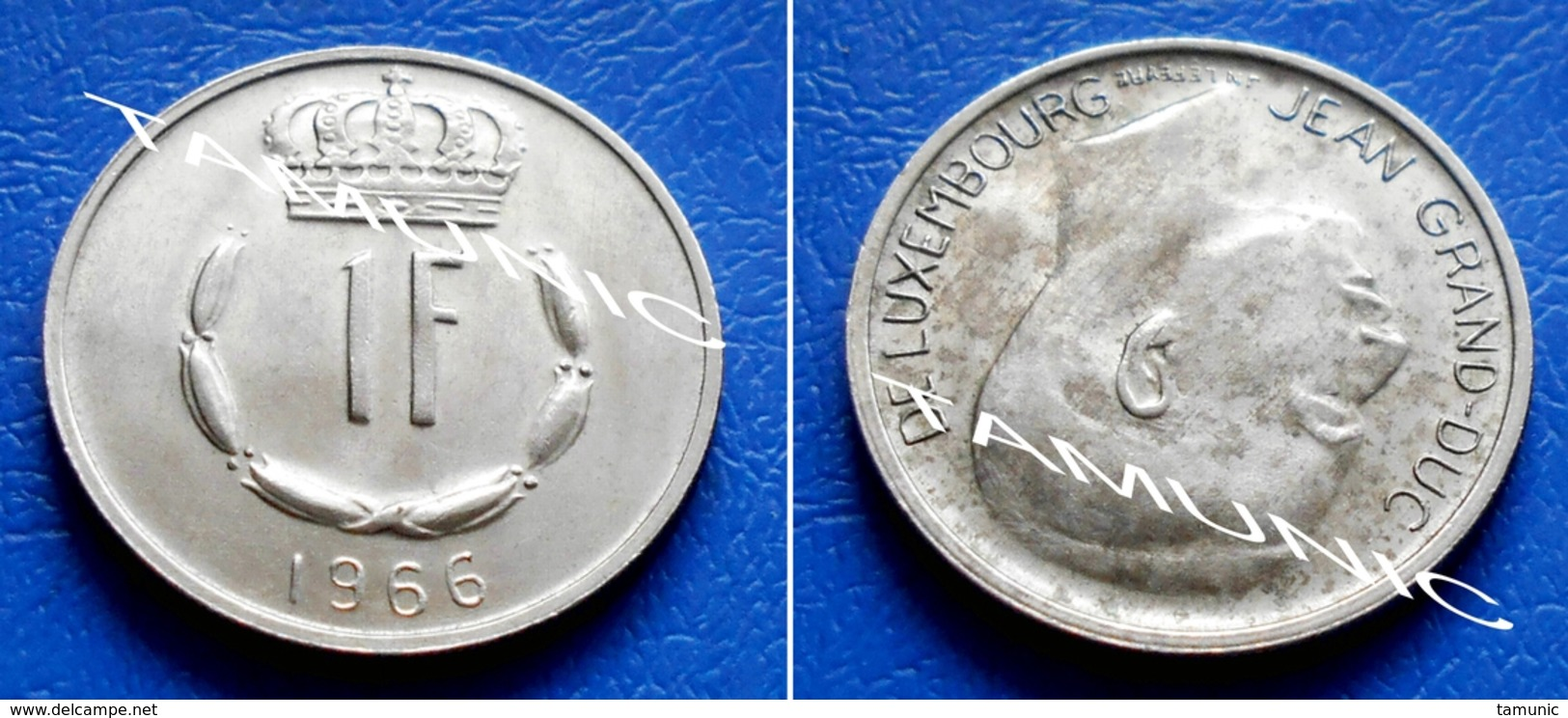LUXEMBOURG 1 Franc 1966 JEAN GRAND-DUC - Luxembourg