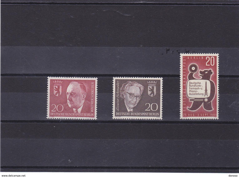 BERLIN  1960-1961 Yvert  171 + 177 +  195 NEUF** MNH - [5] Berlin