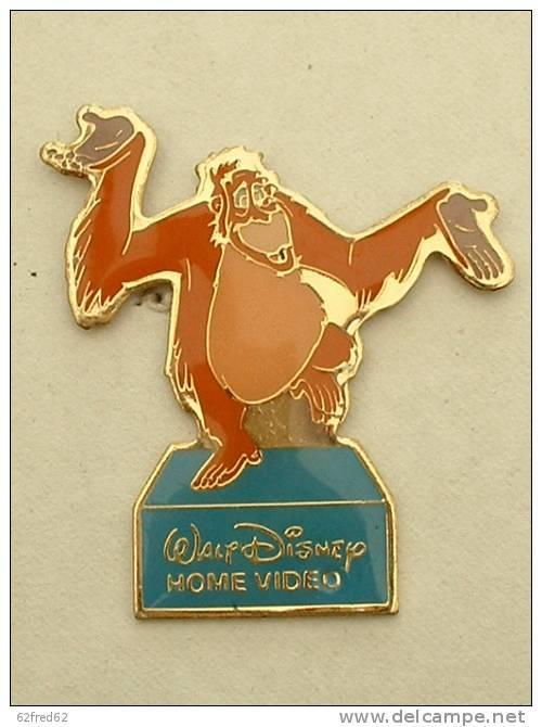 PIN'S WALT DISNEY HOME VIDEO - L'ORANG OUTAN (B1) - Disney