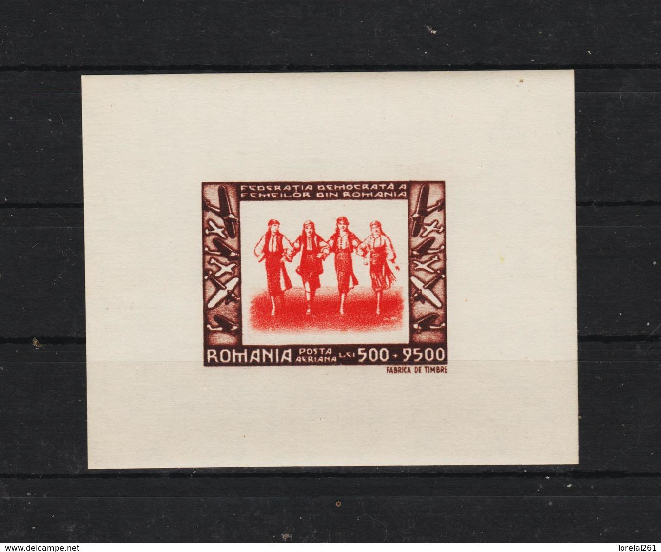 1946 - Federation Democratique Des Femmes Mi No BLOCK 35 MNH - Ungebraucht