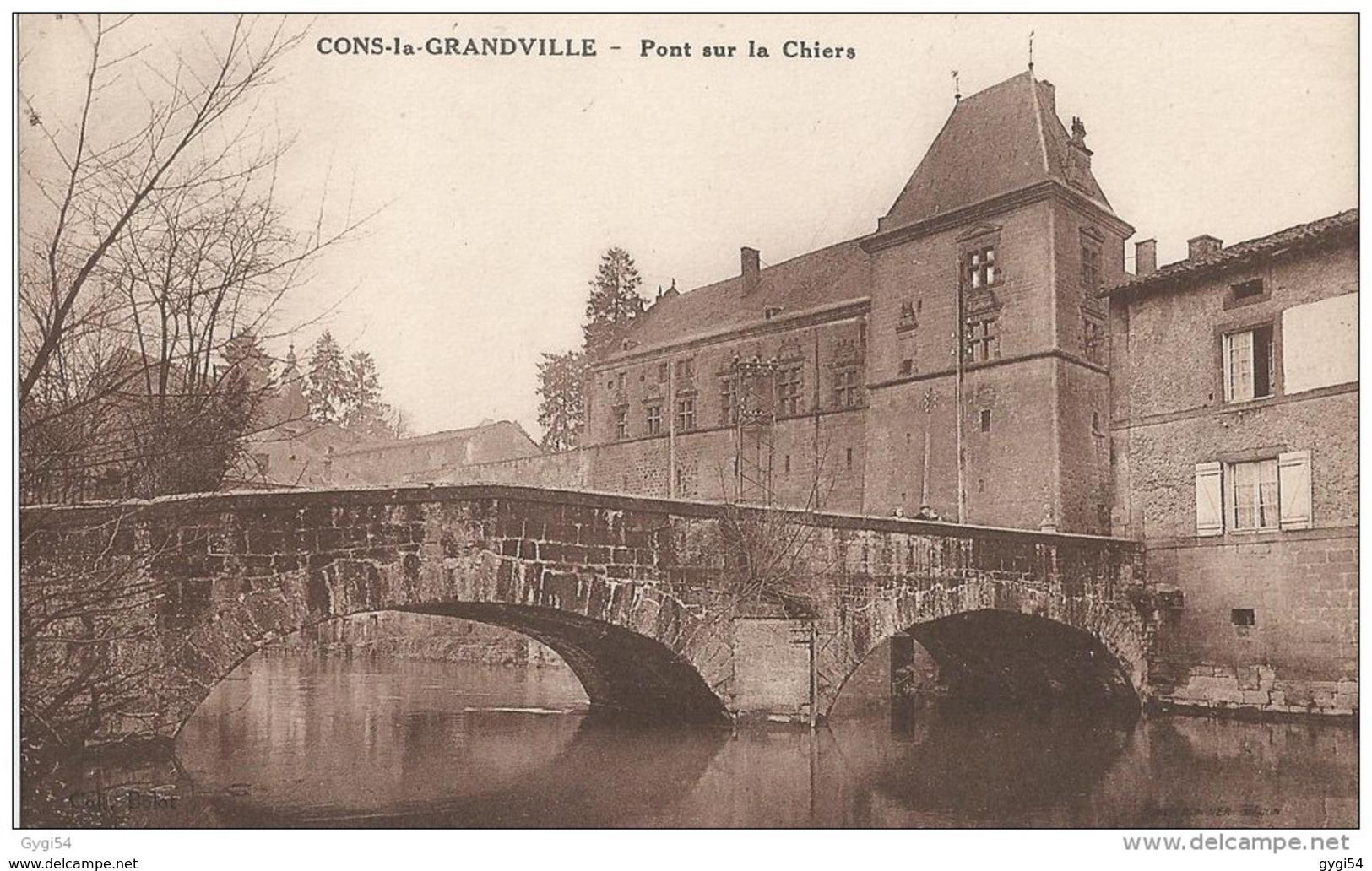 Cons La Grandville 54 Le Pont Sur La Chiers - France