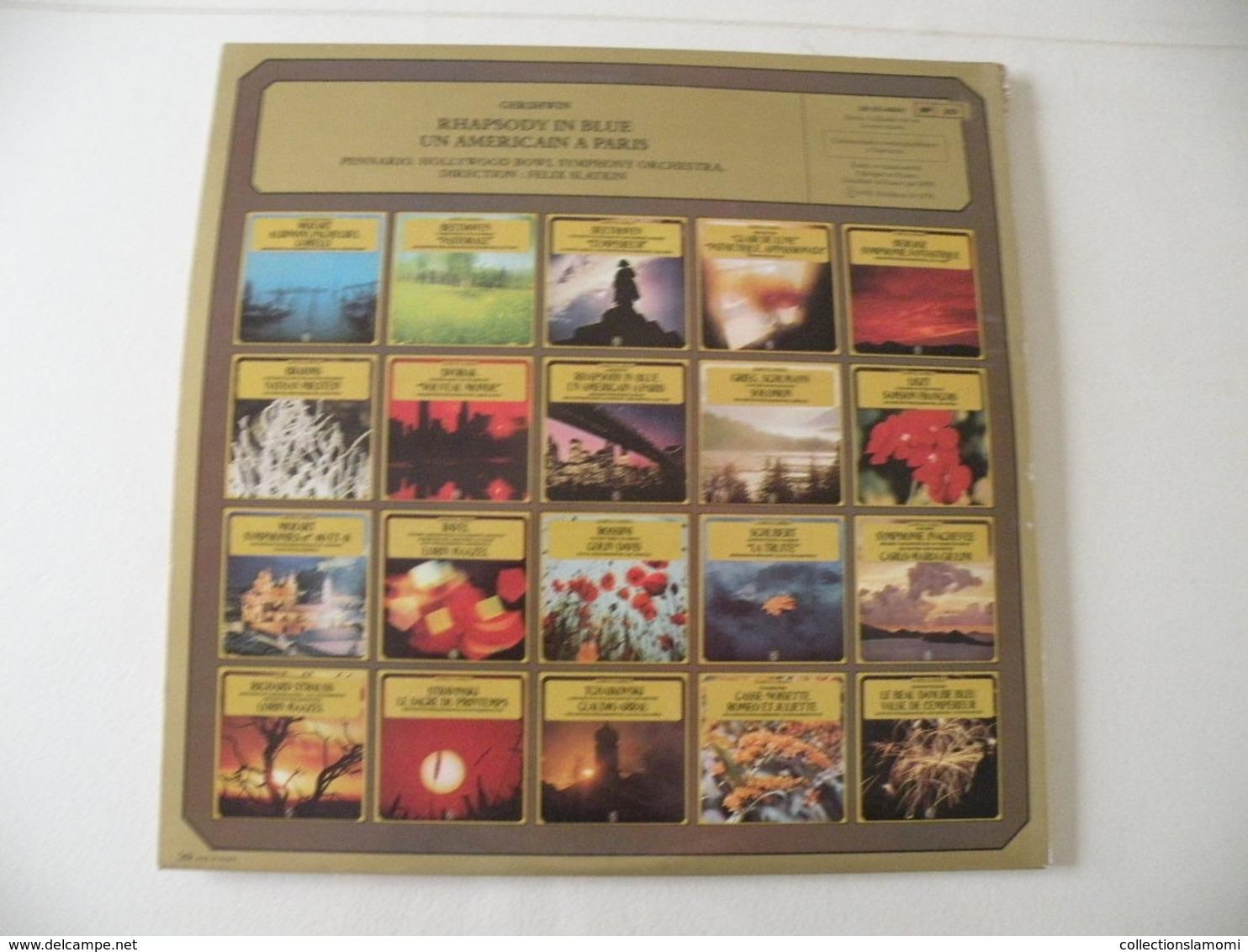 Un Américain à Paris -(Titres Sur Photos)- Vinyle 33 T LP Rhapsody In Blue - Soundtracks, Film Music