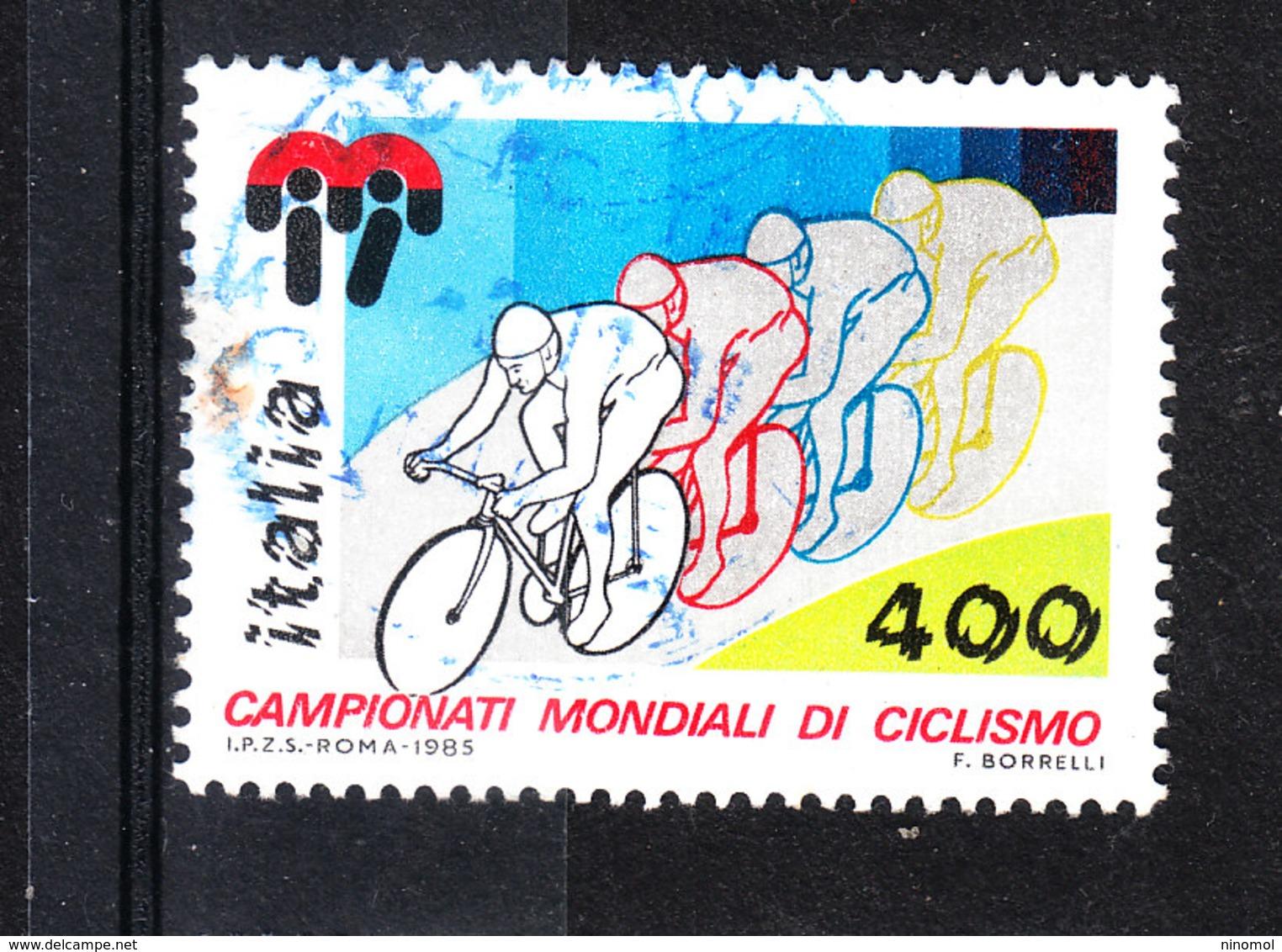 Italia   -  1985. Mondiali Di Ciclismo. Cycling World Championships. - Ciclismo