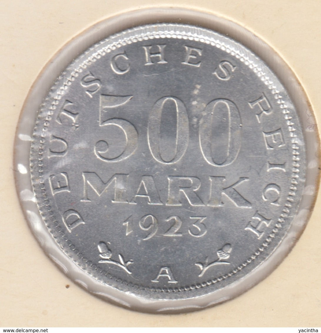 @Y@    Duitsland   500  Mark  1923  A  (D33)    UNC - [ 2] 1871-1918: Deutsches Kaiserreich