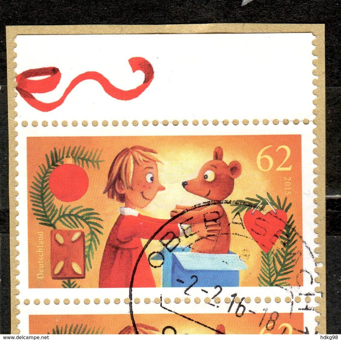 D+ Deutschland 2015 Mi 3185 Freude Schenken - Used Stamps