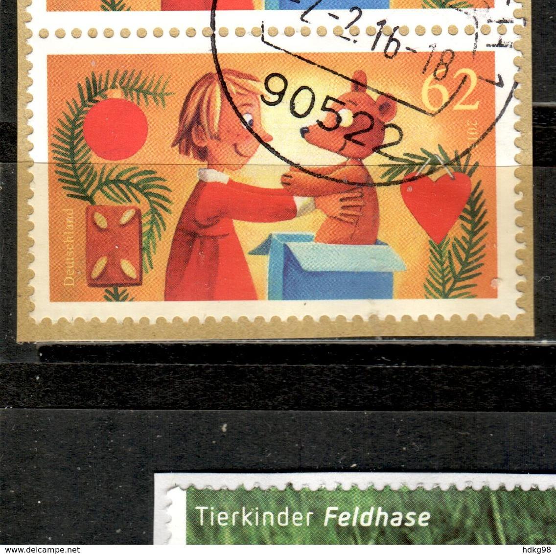 D+ Deutschland 2015 Mi 3185 Freude Schenken - [7] Federal Republic