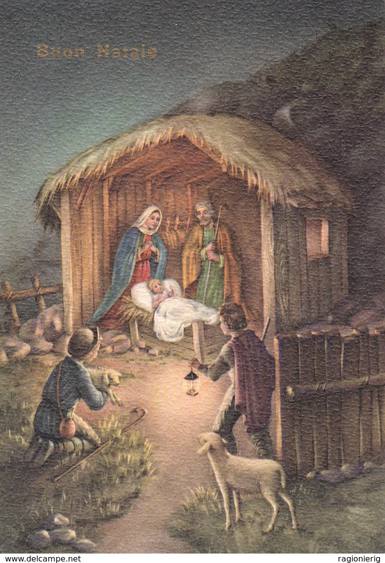 AUGURI FESTE - Buon Natale - Merry Christmas - Feliz Navidad - Joyeux Noël - Presepe / Presepio - 1959 - Non Classificati