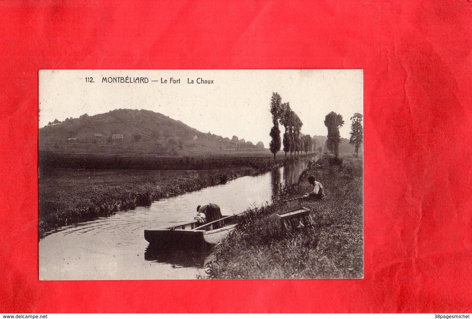F0402 - MONTBELIARD - 25 - Le Fort  - La Chaux - Montbéliard