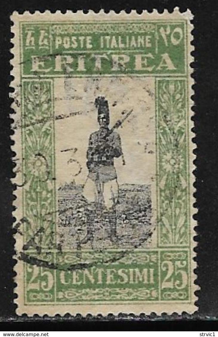 Eritrea Scott # 123 Used Askari, 1930 - Eritrea