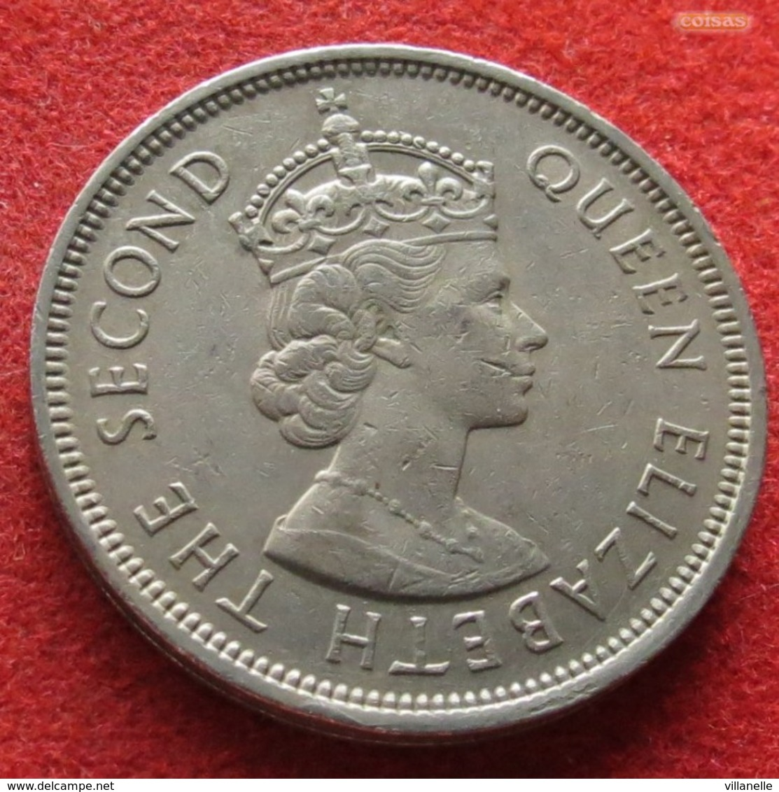 Hong Kong 1 Dollar 1970 KM# 31.1  Hongkong - Hong Kong