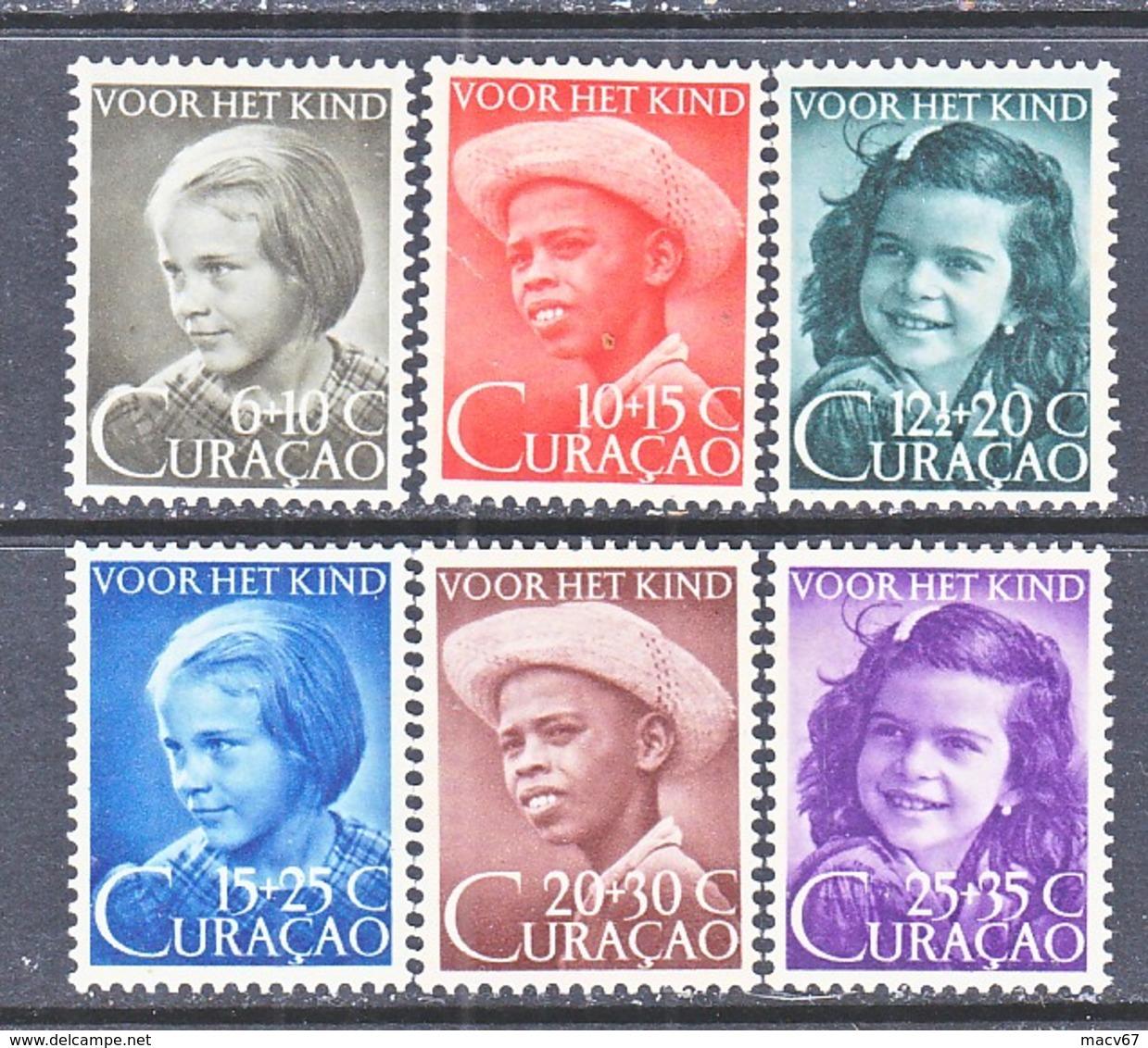 NETHERLANDS  CURACAO  B 4-9  ** - Curacao, Netherlands Antilles, Aruba