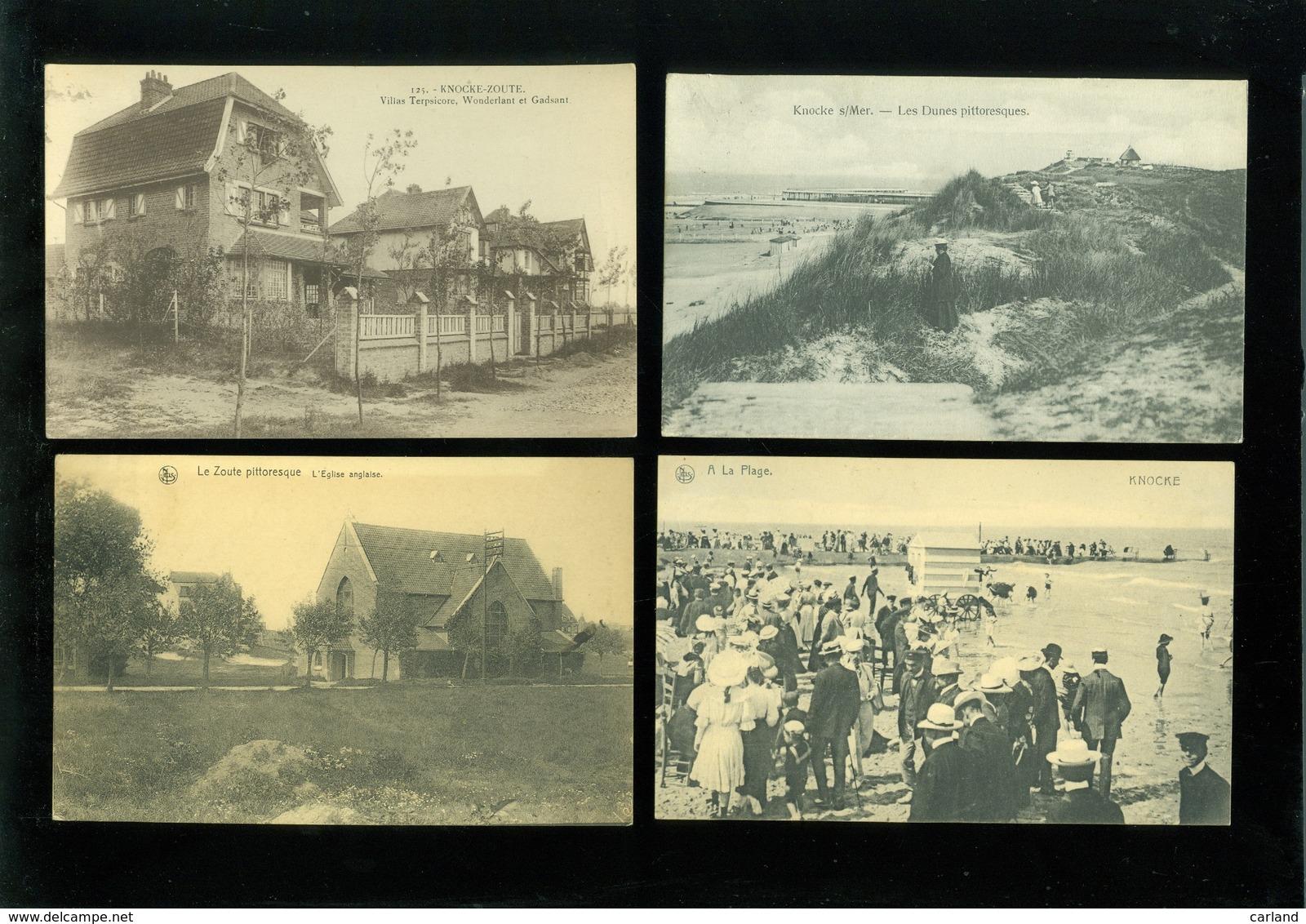 Beau Lot De 20 Cartes Postales De Belgique  Knocke  Mooi Lot Van 20 Postkaarten Van Knokke - 20 Scans - Cartes Postales