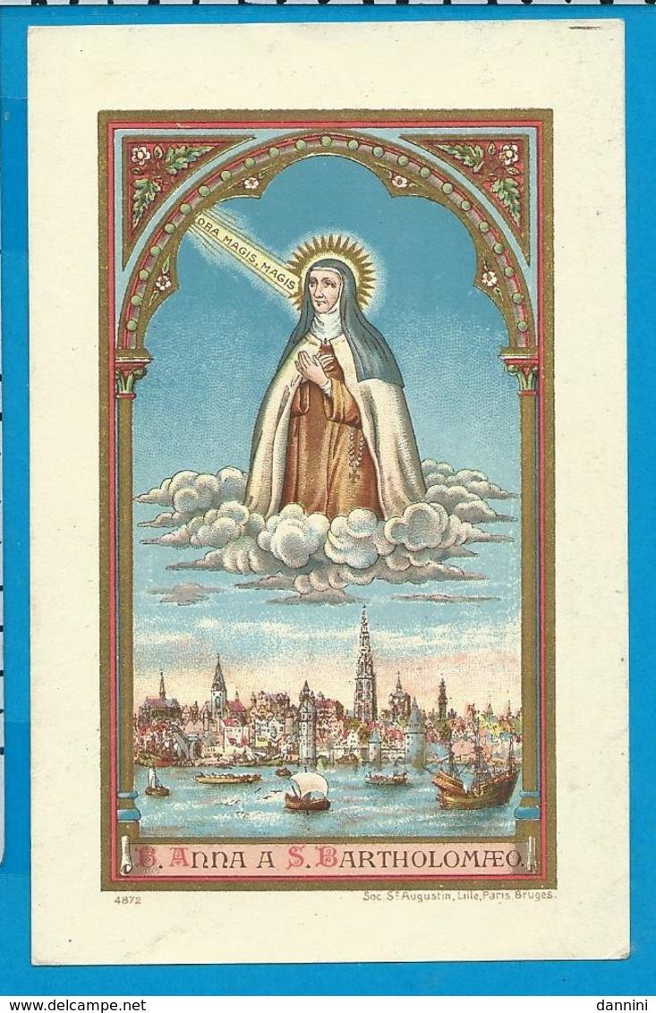 Holycard    St. Anna A St. Bartholomeus - Images Religieuses