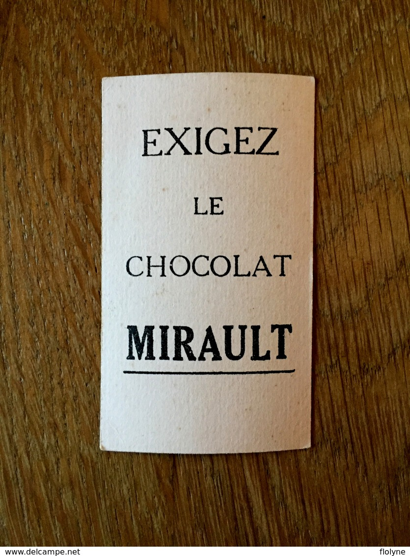 """ KINGSLEY "" - Athlète - Sport - Pub Chocolat Mirault - Cartes Postales"