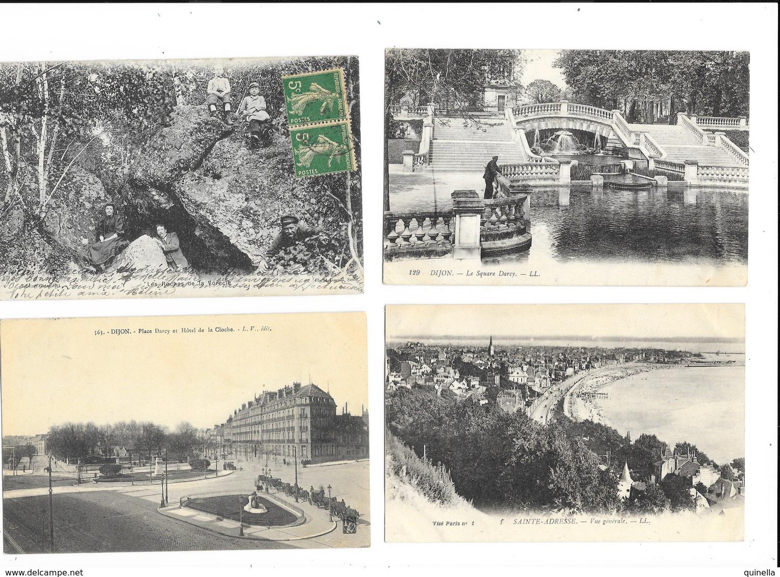 Lot De 60 Cartes De La France  ( 41 Circule )  Voir Les 16 Scan - 5 - 99 Cartes