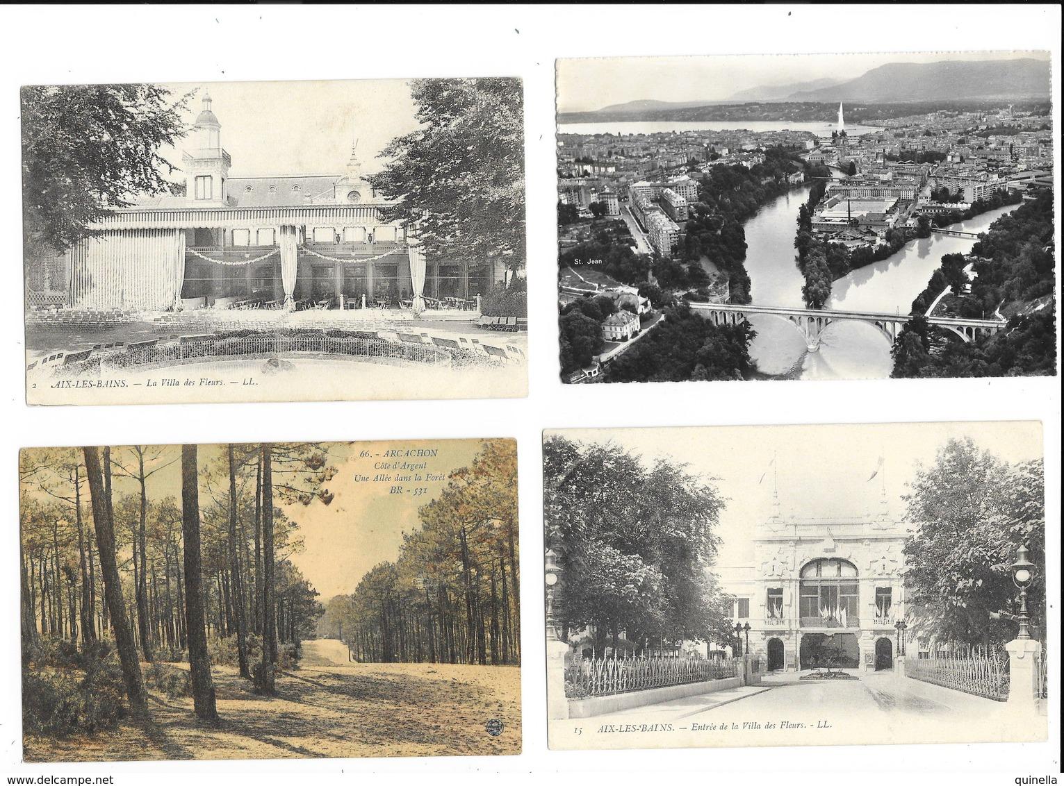 Lot De 60 Cartes De La France  ( 41 Circule )  Voir Les 16 Scan - Cartes Postales