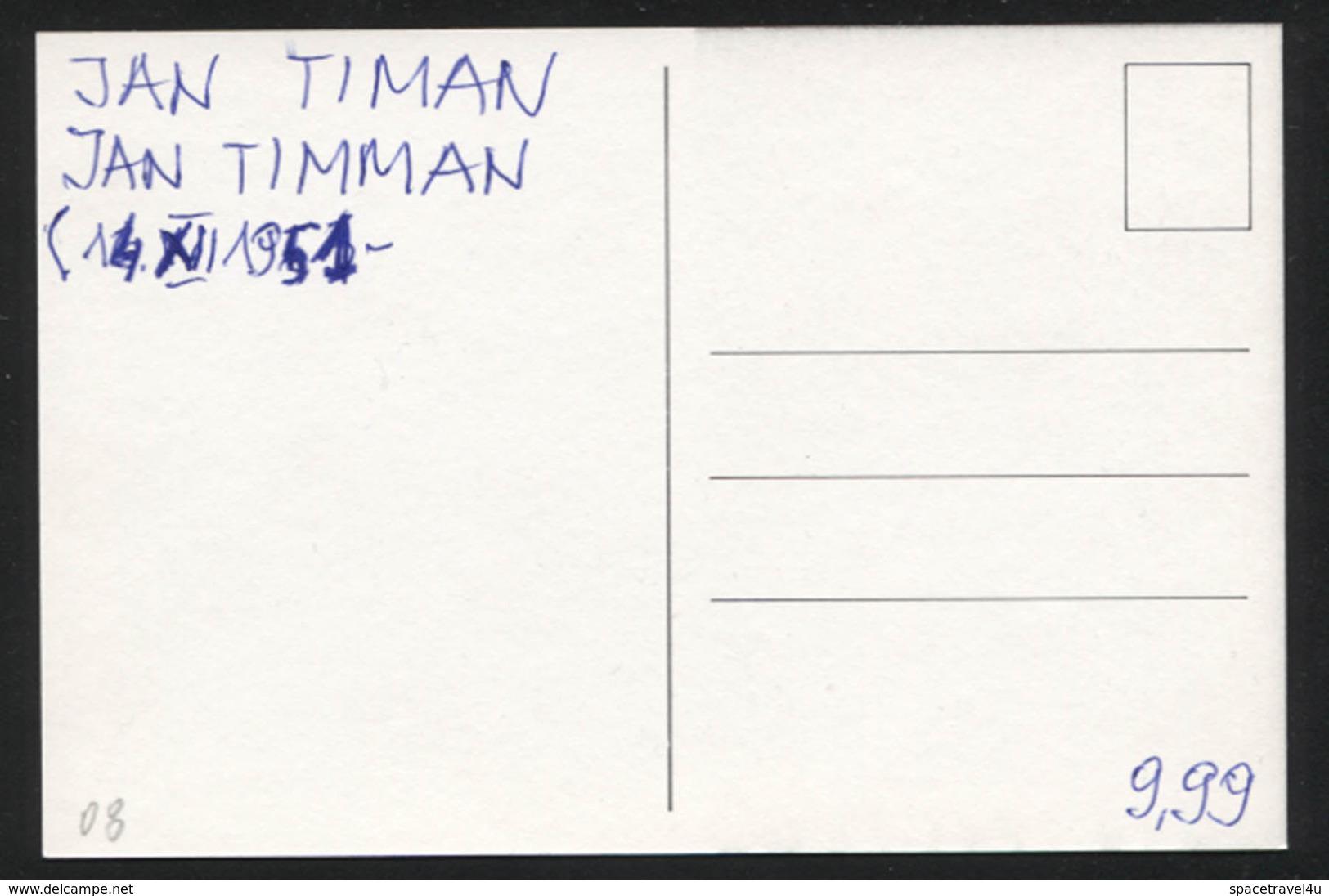 Jan Timman -  Dutch Chess Grandmaster -  Postcard - (CHESS-08) - Cartes Postales