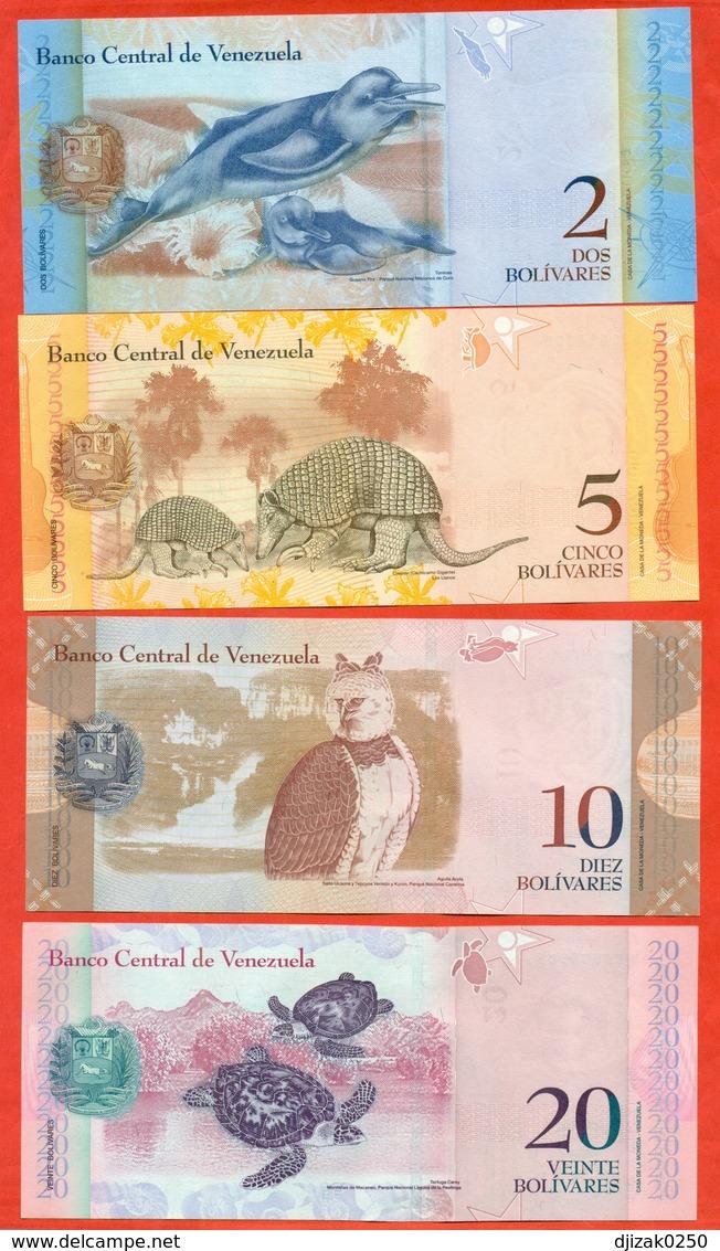 Venezuela 2012-14. Lot Of 4 Banknotes. UNC. - Venezuela