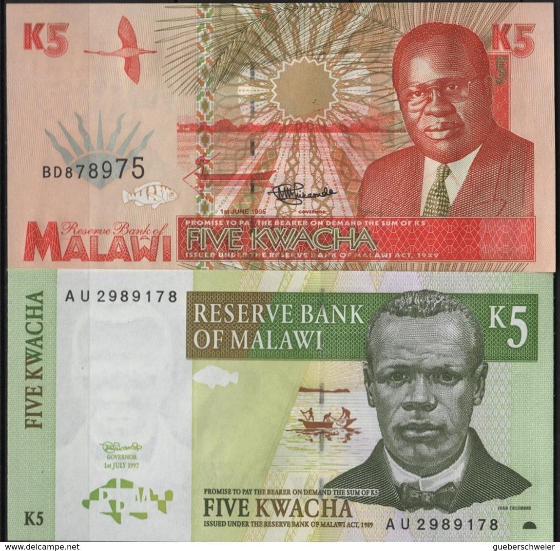 B 73 - MALAWI Lot De 2 Billets état Neuf - Malawi