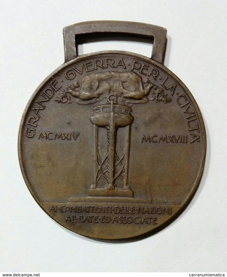 WWI - MEDAGLIA - VITTORIA INTERALLEATA - ITALIA (Inter - Allied Victory) - Italia
