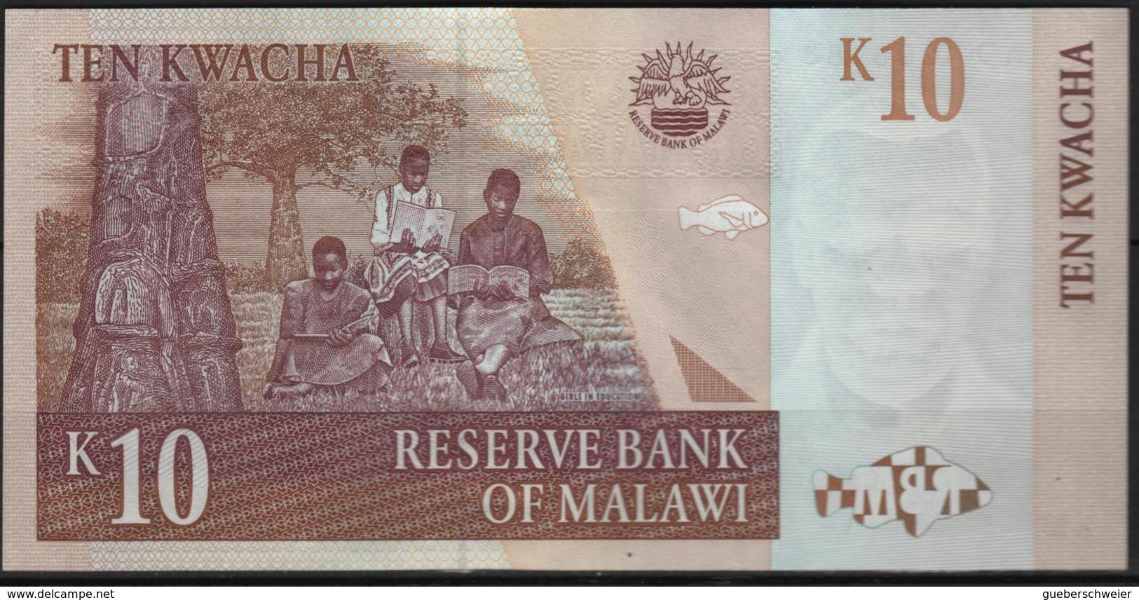 B 76 - MALAWIE Billet De 10 K état Neuf - Malawi