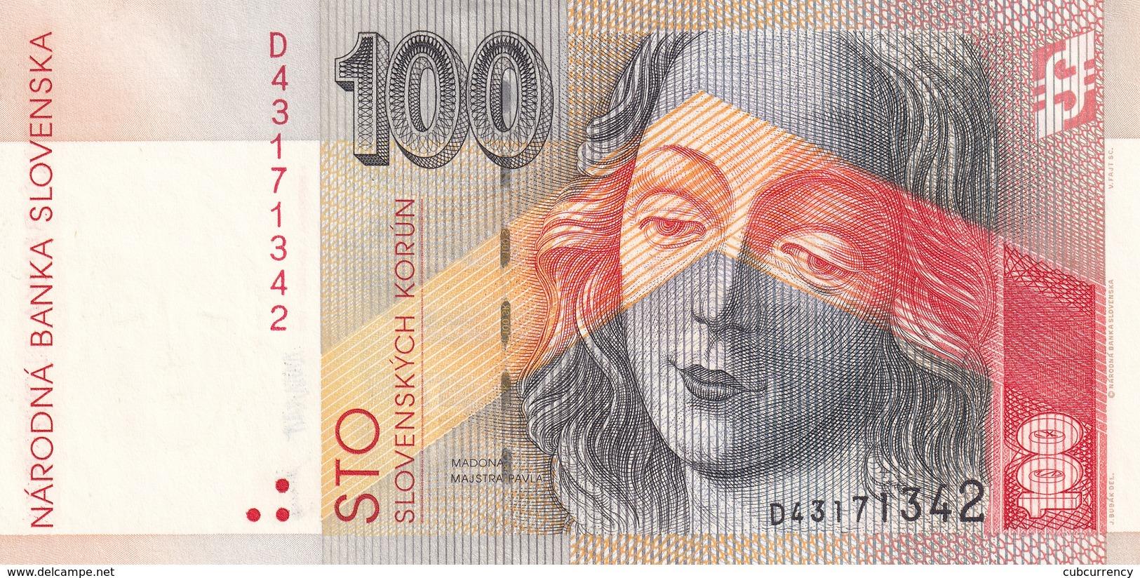 Czechoslovakia Slovakia 100 Korun 1993  UNC - Tchécoslovaquie